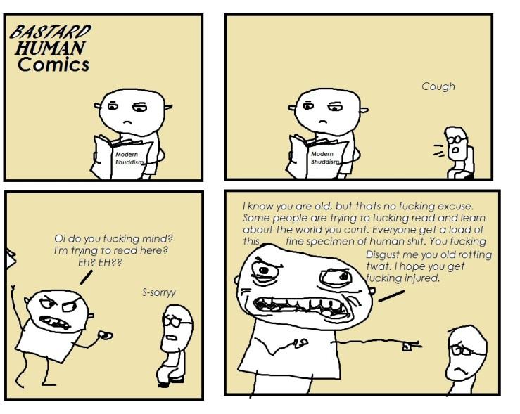 Bastard Human comics 2